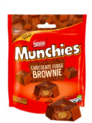 Mini Bombones rellenos de Chocolate Brownie y Cookies 101 gr.