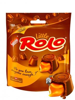 Bombones rellenos de Crema de Toffe Dorado | Rolo Nestle 103 grs