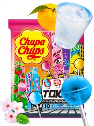 Chupa Chups Japón | 4 Sabores de Tokyo 10 unds.