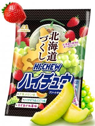 Caramelos Blandos Hichew de Frutas Variadas de Hokkaido 77 grs.