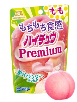 Caramelos Blandos de Melocotón Hichew Premium Mochi | 35 grs.