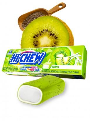 Caramelos Hichew de Kiwi i y Semillas de Chia 50 grs