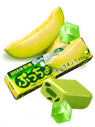 Caramelos Blandos de Melón de Hokkaido rellenos de Gominola 50 grs.