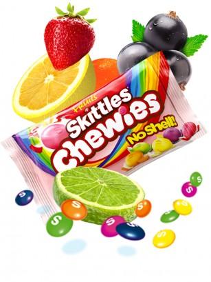 Caramelos Skittles Blanditos Sabor a Frutas | 5 Variedades Pocket 45 grs.