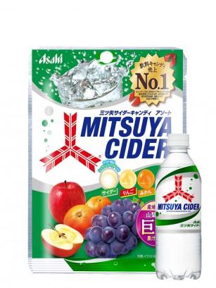 Caramelos de Soda Mitsuya Fruits 136 grs.