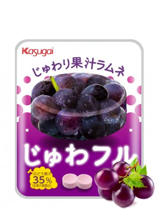 Caramelos Efervescentes sabor Uva Negra | 25 grs.