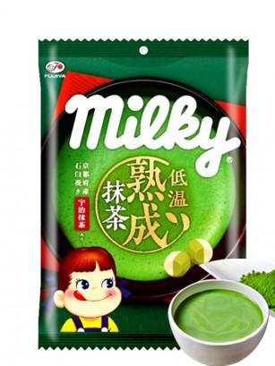 Caramelos de Leche Condensada y Matcha | Milky Pekochan 80 grs.