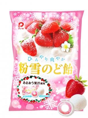 Caramelos Nieve de Fresas de Amaou 70 grs.