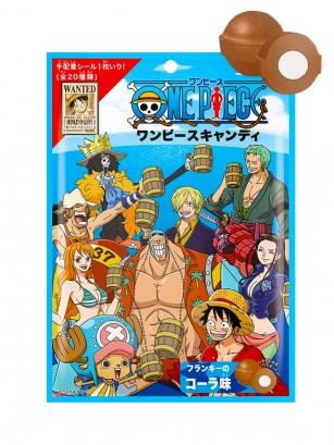 Caramelos de Refresco de Cola con Pica Pica | One Piece 70 grs. | Pedido GRATIS!