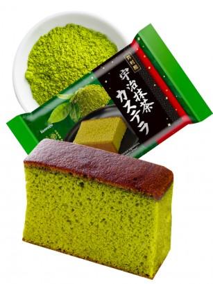 Bizcocho de Té Verde Uji Matcha y Azuki Japonés | 5 Porciones