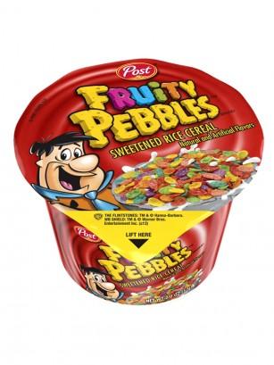 Cereales Fruity Pebbles | Edición Cup | 57 gr