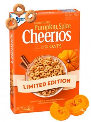 Cereales Cheerios Especias de Calabaza | Edición Limitada 306 grs