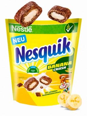 Cereales de Chocolate rellenos de Crema de Banana | Nestle 150 grs