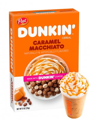 Cereales Dunkin' Caramel Macchiato 311 grs