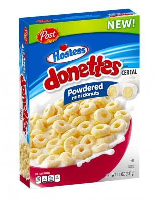 Cereales Donettes Glaseados Hostess | BOX 311 grs