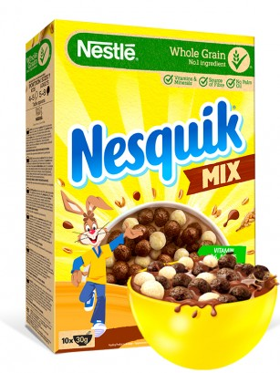 Cereales 2 Chocolates Nesquik DUO 325 grs.