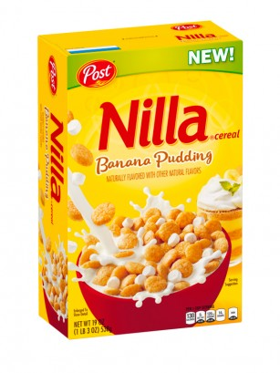 Cereales Nilla Banana Pudding | BOX 340 grs