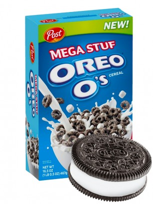 Cereales Oreo Mega Stuf | Big BOX 467 grs