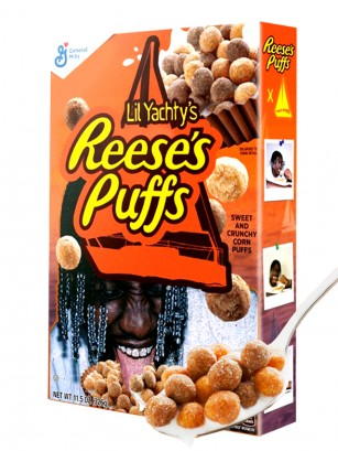 Cereales Reese's Puffs | Sabor Crema de Cacahuete | Edi. Lil Yachty 326 grs