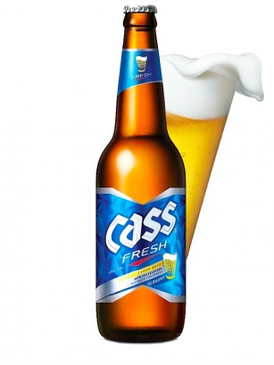 Cerveza Coreana Cass