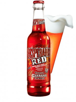 Cerveza Desperados RED Guaraná | 400 ml.
