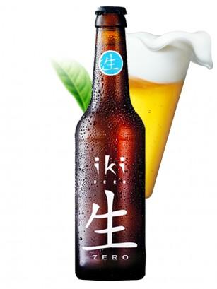 Cerveza Japonesa IKI Sencha Sin Alcohol ZERO 330 cl