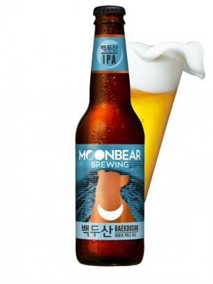 Cerveza Coreana Moonbear Baekdusan | IPA 330ml. | Pedido GRATIS!