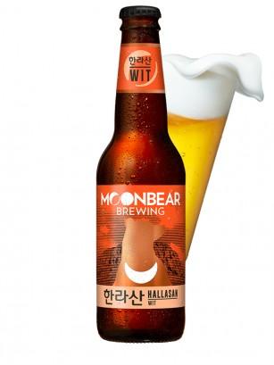 Cerveza Coreana Moonbear Hallasan | WIT 330ml.