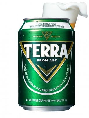Cerveza Coreana Premium Terra | AGT 355 ml. | Pedido GRATIS!