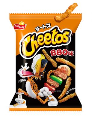 Cheetos Japoneses Sabor Barbacoa Japonesa 75 grs