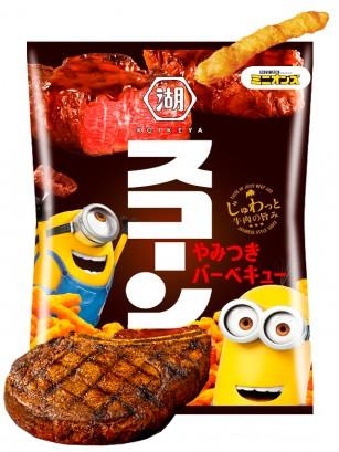 Snack estilo Cheetos Japoneses sabor Barbacoa Japonesa | Edición Minions 75 grs