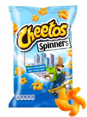 Cheetos Spinners Paprika 110 grs.