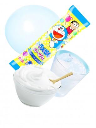Chicle Doraemon Sabor Yogur y Refresco Ramune | 2 Sticks