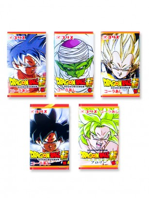 Chicle de Dragon Ball con Sabor a Soda Ramune | Unidad Super y Broly Edit