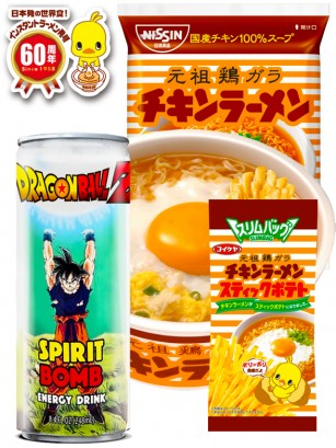 Love Chikin Ramen & Bebida Dragon Ball | OFERTA