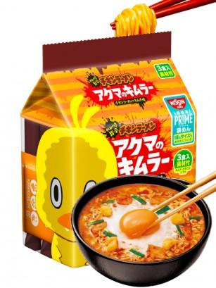 Chikin Ramen Kimchi Toppings | Pack de 3 | 264 grs