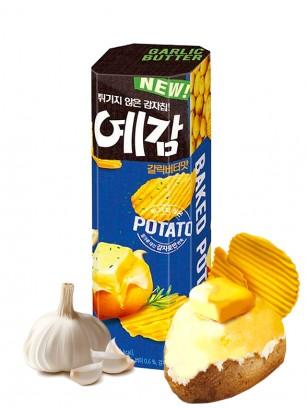 Patatas Coreanas Onduladas con Mantequilla y Ajo 80 grs
