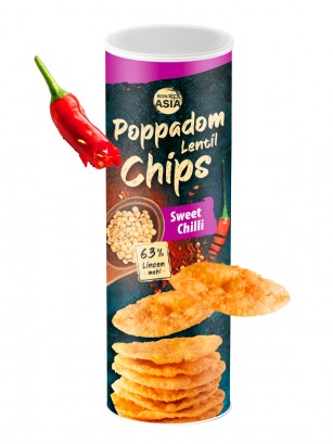 Chips de Lentejas Sweet Chili 70 grs