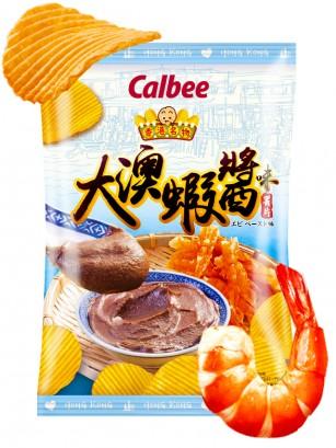 Patatas Onduladas Calbee Paté de Gambas Thai | 70 grs