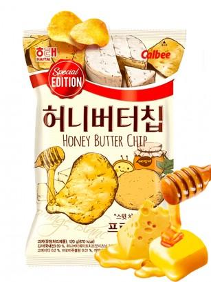 Patatas Fritas con Mantequilla, Miel y Queso | Honey Tong Tong 60grs