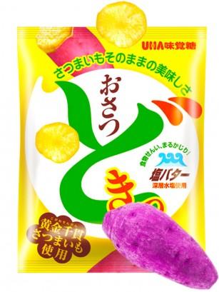 Chips de Boniato Tanuki Japonés con Mantequilla y Sal 65 grs.