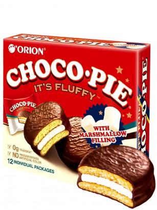 Choco Pie Coreano Relleno de Crema de Nube | Family Box 12
