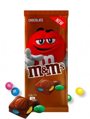 Tableta de Chocolate con Corazón de M&M's 165 grs