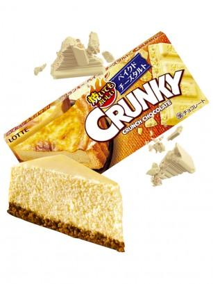 Chocolate Blanco Crunky Lotte de Tarta de Queso Gouda 45 grs.
