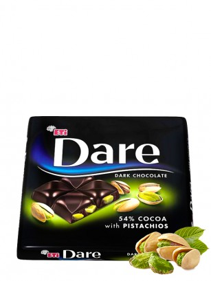 Chocolate Negro con Pistachos | Dare 70 grs