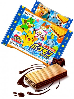 Waffers de Chocolate | Pokemon