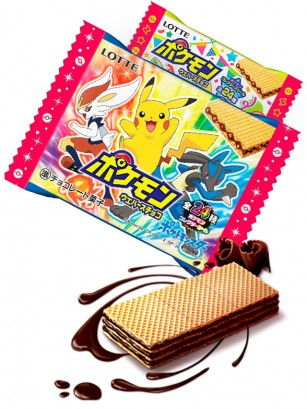 Wafers de Chocolate | Pokemon