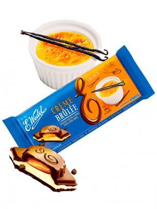 Gran Tableta Chocolate con relleno de Crema Brule | Wedel Lotte 289 grs