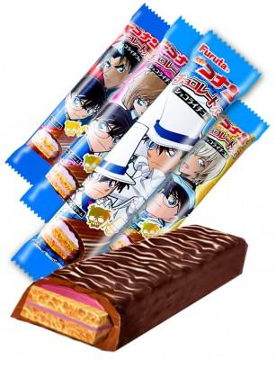 Chocolatina Galleta y Crema de Fresa | Detective Conan | 4 Diseños Aleatorios