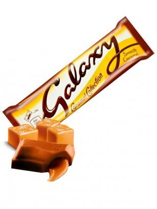 2 Chocolatinas Galaxy Rellenas de Salted Caramel 48 grs.